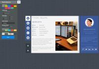 蓝色html5响应式个人博客网站整站模板下载