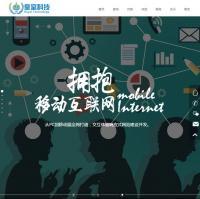 HTML5高端大气科技感十足炫酷网络公司企业官网网站模板下载