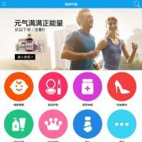 手机微商城海外代购网站模板整站下载