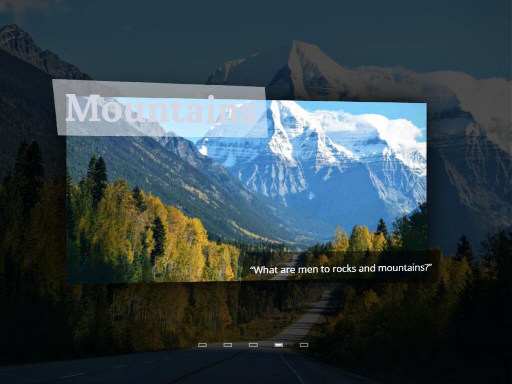 原生js实现3d立体效果超级炫酷全屏焦点轮播大图特效插件