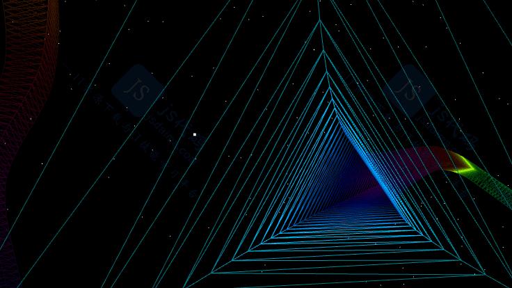 下载按钮图片_科幻创意时空隧道动态炫酷线条粒子canvas特效动画_动画/背景_js ...
